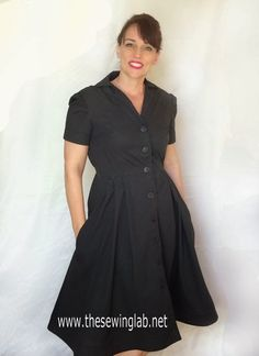 The Sewing Lab: The Shirtwaist Dress from Gertie's New Book for Better Sewing