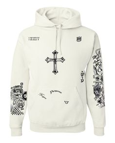 Justin Bieber body Tattoo women hooded sweatshirt - ALLNTRENDSHOP - 1