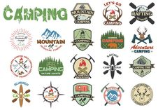 camping by Tomass2015 on @creativemarket