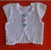 Ravelry: Knit Crochet Bolero pattern by Leanna Booth