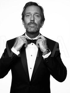 Hugh Laurie in Vanity Fair May 2012 -