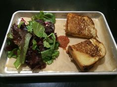 Grilled cheese with tomato jam
