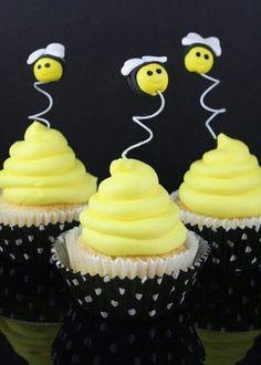 Bumble bee cupcakes