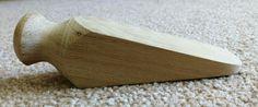 Oak Door Wedge With Turned Head, By Joe Lancaster