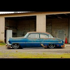 1954 Chevrolet With 20\
