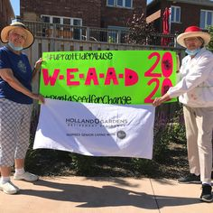 Holland Gardens Retirement Residence in Bradford help commemorate World Elder Abuse Awareness Day in the garden.  #vervecares #community #WEAAD2020  #UprootElderAbuse2020  #Plantaseedforchange Holland Garden, Wellness Activities, Emergency Response, Senior Living, Bradford, Retirement, Health Care, Gardens, Community