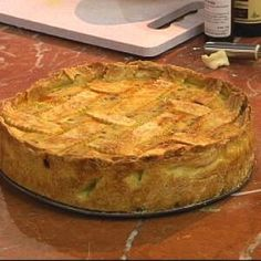 Neapolitan Ricotta and Rice Pie / Pastiera Ricotta Pie, Queso Ricotta, Ricotta Cheesecake, Italian Desserts, Italian Recipes, Italian Foods, Italian Cooking, Italian Pastries, Italian Dishes