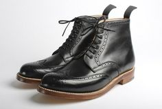 Grenson alfred brogue boots