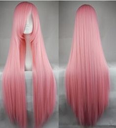 100cm long straight hot pink Anime cosplay hair wig  ,shop at www.favorwe.com,cosplay wigs,fashion wigs,hair,beauty www.favorwe.com