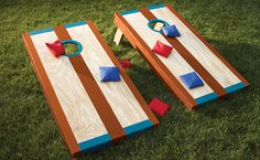 Bag Toss Game great for 4th of July!