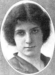 GOLDA MEIR  BORN 1898-PRIME MINISTER OF ISRAEL -1956-1966.