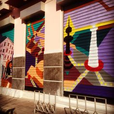 Grafity in our building in Rebelou 1 in Thessaloniki