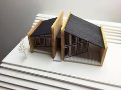 Maquette Architecture, Architecture Design, Architecture Model Making, Architecture Concept Drawings, Model Homes, Modern House Design, Building Design, Exterior Design, Models