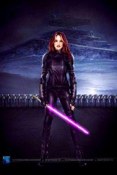 Mara Jade Skywalker my favorite Star Wars character