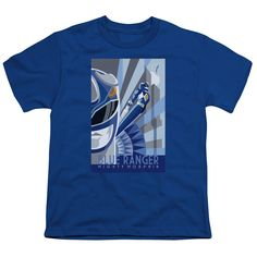 """Checkout our #LicensedGear products FREE SHIPPING + 10% OFF Coupon Code """"Official"""" Power Rangers / Blue Ranger Deco-short Sleeve Youth 18 / 1 - Power Rangers / Blue Ranger Deco-short Sleeve Youth 18 / 1 - Price: $29.99. Buy now at https://officiallylicensedgear.com/power-rangers-blue-ranger-deco-short-sleeve-youth-18-1"""