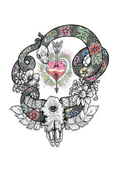 Tapestry by Bird Black (from BirdBlackEmporium on Etsy)