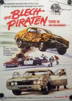 gone in 60 seconds 1974 poster - Google Search