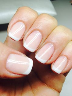 French Natural nails
