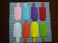 colors -  Ice cream bars