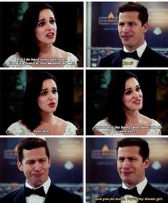 New wedding vows that make you cry hilarious awesome 24 Ideas – funny wedding ideas Brooklyn Nine Nine, Wedding Vows That Make You Cry, Jake And Amy, Comedy, Fandoms, Film Serie, New Quotes, Just For Laughs, Favorite Tv Shows