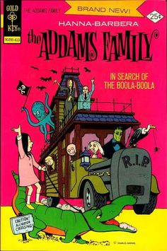 Cover for Addams Family (Western, 1974 series) #1