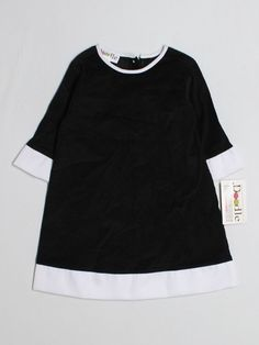 New Girl Lolly Wolly Doodle Black Corduroy Dress Size 24 Months #LollyWollyDoodle #DressyHolidayEveryday