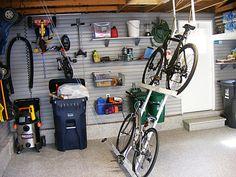 bicycle garage storage - Google Search