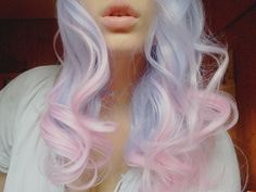 Is this what he means by cotton candy hair?