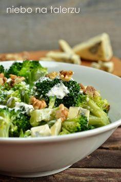 Sałatka brokułowa Brown Sugar Chicken, Eat Smarter, Broccoli, Grilling, Good Food, Food And Drink, Healthy Eating, Vegetables, Recipes
