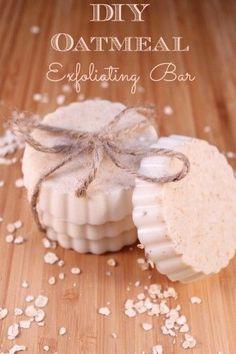 DIY Oatmeal Exfoliating Bar