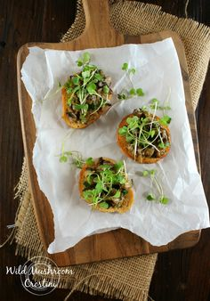 Authentic Suburban Gourmet: Wild Mushroom Crostini | Friday Night Bites
