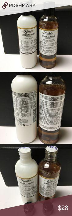 Kiehl's Original Musk set NEW Kiehl's Original Musk set. Body lotion 8.4oz and bath/shower liquid body cleanser 8.4oz. NEW Kiehl's Makeup