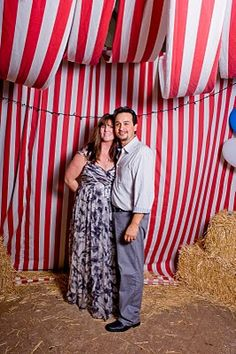 Incase you can't have an outside wedding with a tent, make the inside venue look like it!