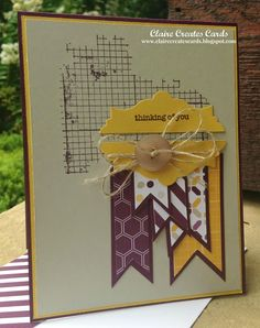 Claire Creates Cards: Thinking of You!--CCMC312 and FM169
