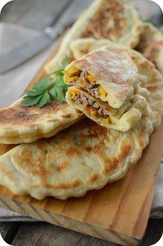 Crêpes Turques à la Viande Hachée
