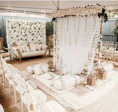 Pakistani Wedding Decor, Desi Wedding Decor, Wedding Stage Design, Wedding Set Up, Wedding Ideas, Wedding Inspiration, Nikah Ceremony, Wedding Favours Luxury, Pakistan Wedding