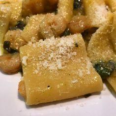 Paccheri con gamberi zucchine da Jordi e Benedetta Buoni!!!!!! #pasta #instañam #foodie