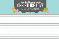 Oct 2013 Lesson- Christlike love