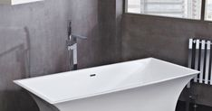 Tap of the week: The #Giobella freestanding bath mixer.  Contemporary and unique design, this bath mixer comes with a 10-year guarantee! High-quality bright chrome finish.  #HappyShopping!