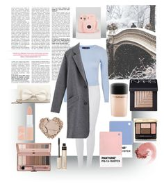 """Polaroid Pictures: Winter Wonderland"" by fashionloveronlee on Polyvore featuring 7 For All Mankind, Topshop, RED Valentino, Rimmel, By Terry, MAC Cosmetics, NARS Cosmetics, Guerlain, women's clothing and women's fashion"