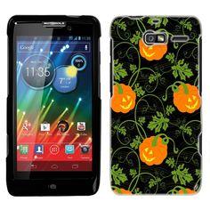 Amazon.com: Motorola Droid Razr M Pumpkin Vine Pattern Phone Case Cover: Cell Phones & Accessories