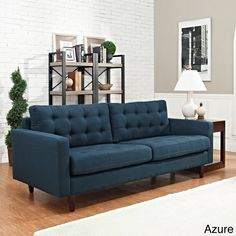 Empress Tufted Upholstered Sofa - Overstock™ Shopping - Great Deals on Modway Sofas & Loveseats  $789.99