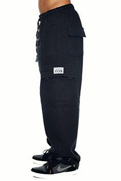 Pro Club Cargo Sweat pants 13oz Heavy Weight 6040 S 5XL 2X Large 44 46 Black  #pant #menspants #jeans #clothing #fashion