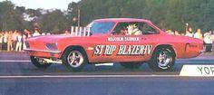 Malcolm Durham Corvair Funny Car