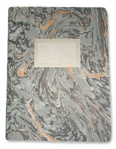 marbled composition book