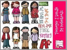 Melonheadz Illustrating Teenagers 2 bundle :)