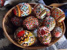 Romanian eggs
