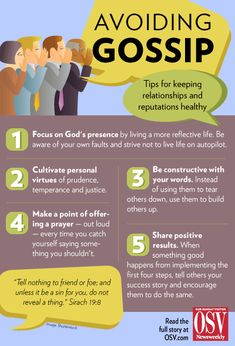 So, did you hear what Pope Francis said about gossip last spring?