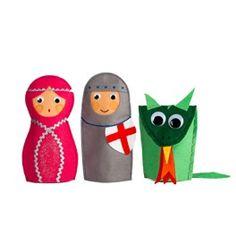 3 Titelles de MÀ de Sant Jordi Felt Crafts, Diy And Crafts, Felt Patterns, Conte, Book Club Books, Softies, Middle Ages, Cool Toys, Puppets