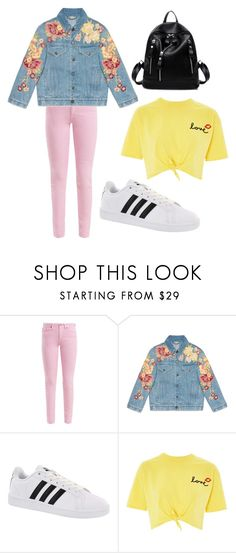 """""""Untitled #70"""" by bettina-agoston on Polyvore featuring Acne Studios, Gucci, adidas and Topshop"""